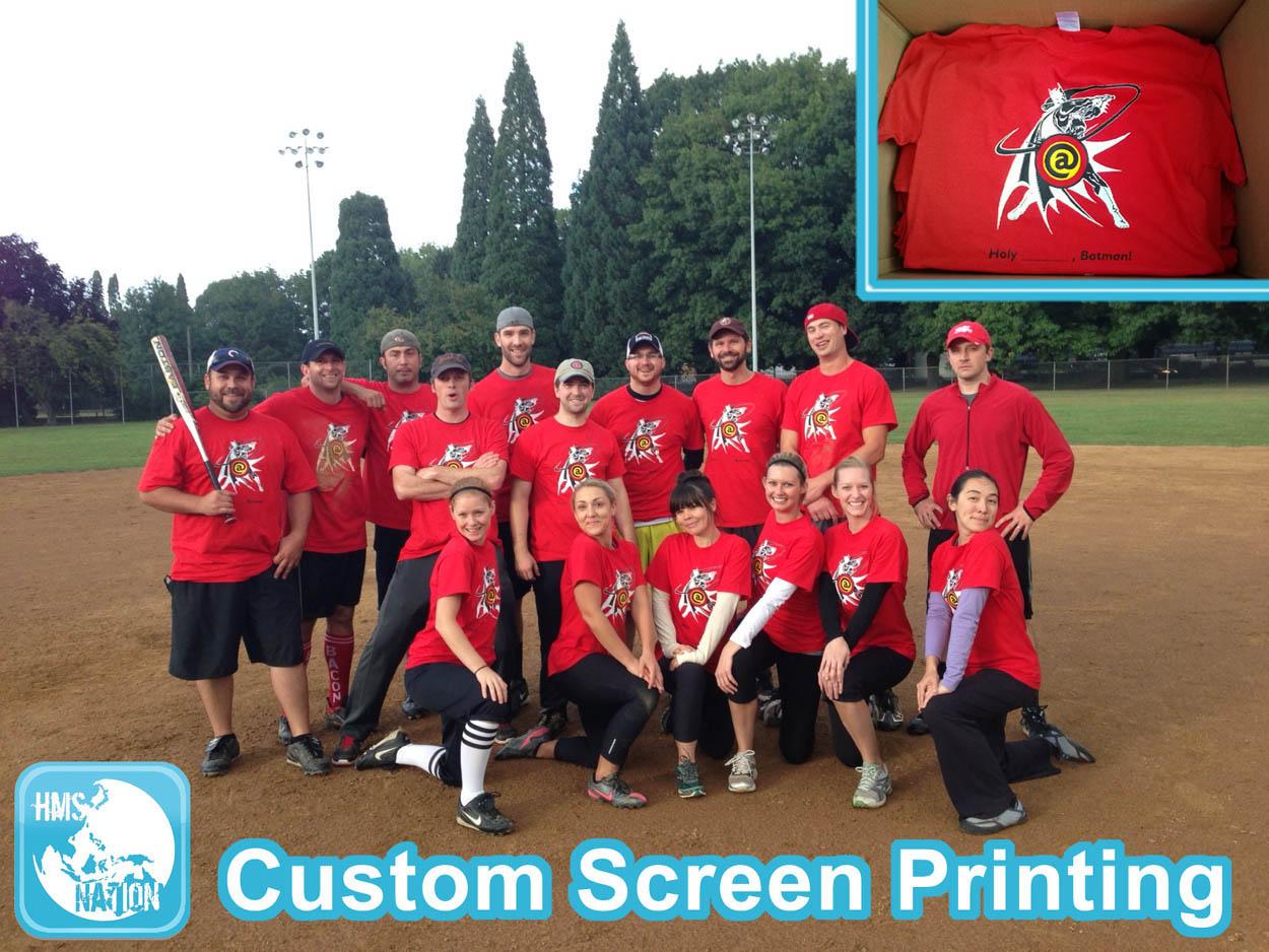 custom screen printing fast portland