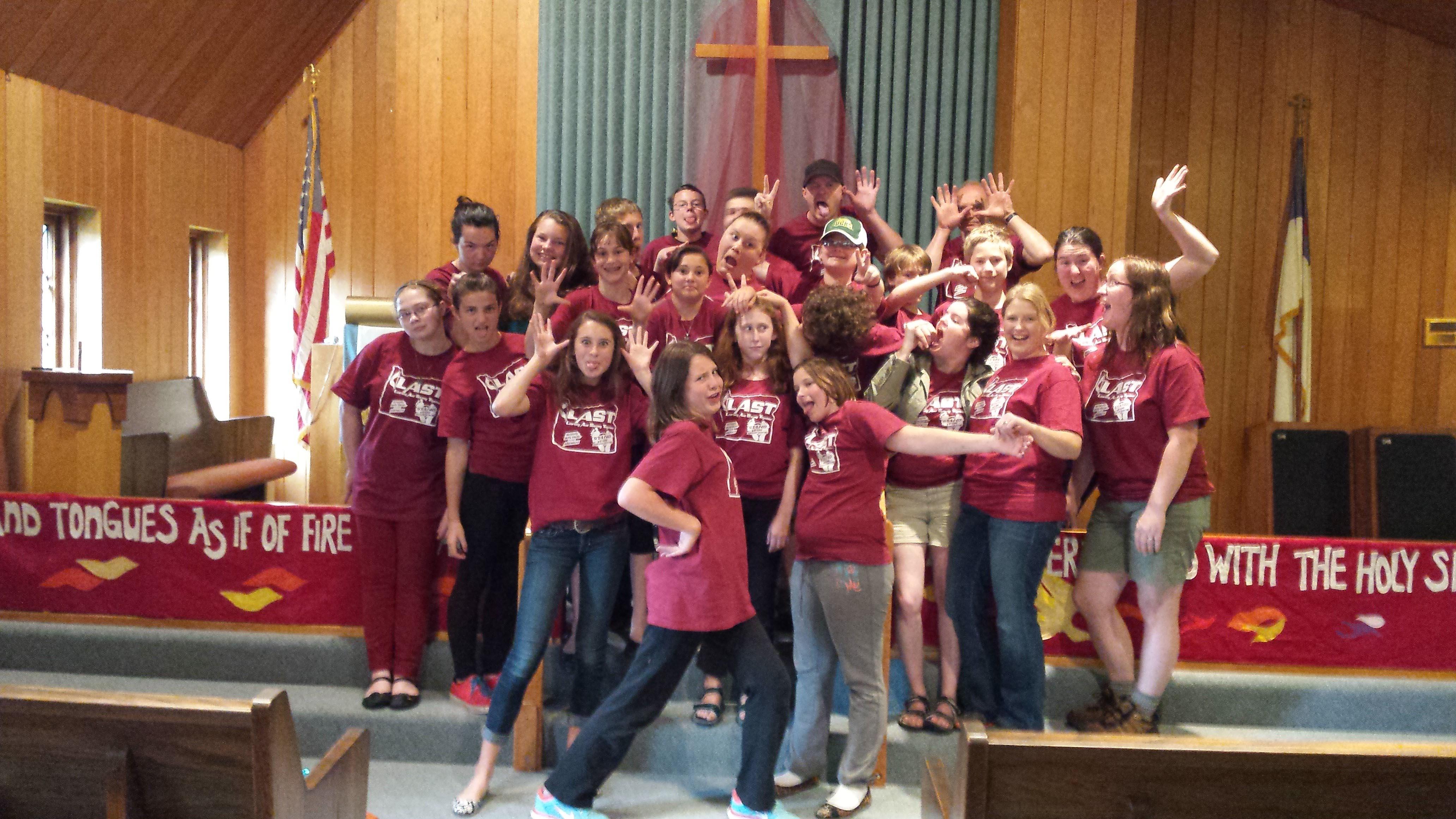 portland church youth group t shirt printing