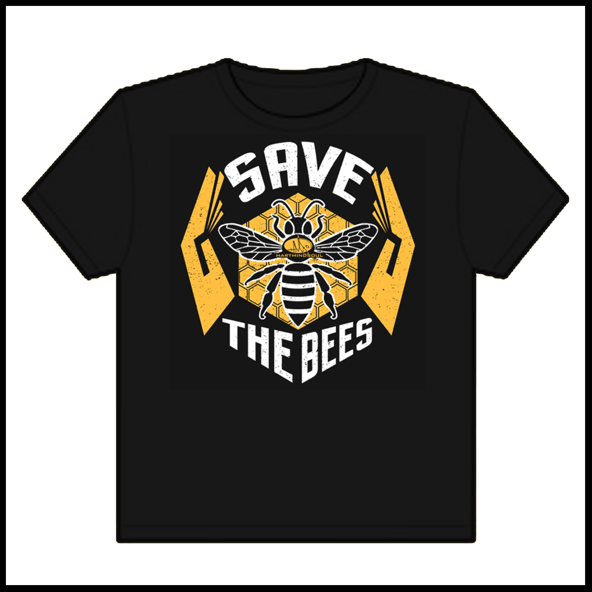 Save The Bees Heart Mind Soul