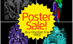 Portland Black Friday Poster Sale