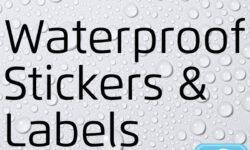 Buy Waterproof Custom Stickers