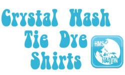 Crystal Wash Tie Dye T Shirts