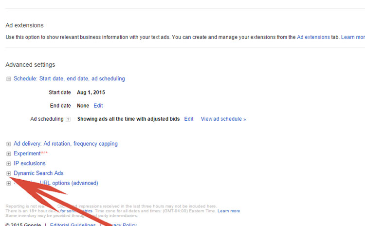 Enabling Dynamic Search Ads In Google AdWords