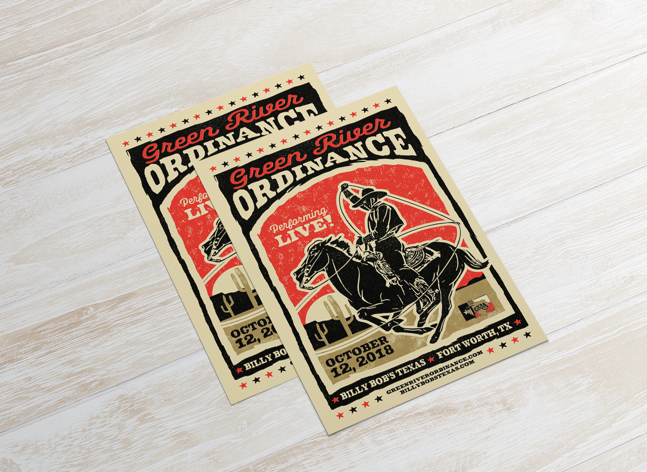 GRO Billy Bobs Poster