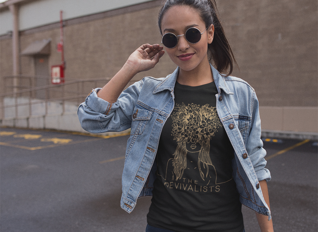 Revivalists Floral Woman Tee