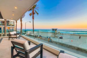 3701 Ocean Front Walk Patio View