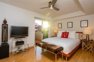 West Laurel Street bedroom