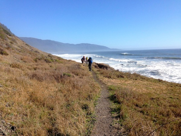 backpacking the lost coast