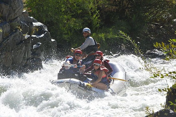 rafting middle fork on labor day