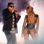 "Beyonce and Jay Z ""On The Run"" Tour in Miami (Video)."