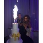 khloe kardashian celebrates her birthday with her boyfriend French Montana.