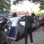 Grabbing People's Phone in the Hood Prank Gone Wrong !