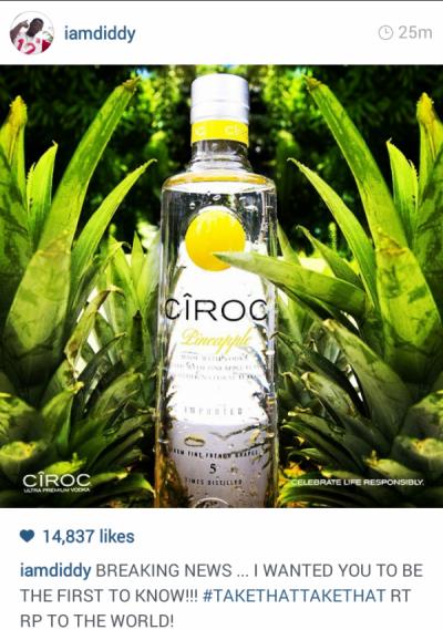 pineapple ciroc