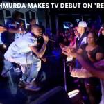 """Bobby Shmurda hits the  stage to perform """"Hot Nigga"""" on Revolt T.V."""