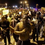 47 People Arrested In Ferguson, Urine Bottles Thrown Over Michael Brown Protest Video/Pics