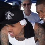 "Chris Brown – New Flame feat. Usher & Rick Ross – ""Behind The Scenes""."