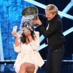 Kim Kardashian Takes The ALS Ice Bucket Challenge On 'Ellen'.