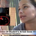 Female Student Tackled By Police For Using Cell Phone In School.