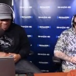 "Chris Webby ""Spits a hot Freestyle on Sway In The Morning""."