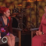 Keyshia Cole Performs On The Queen Latifah Show.