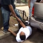 """NYPD Officer Knocks Out A Teenager """"Marcel Hamer"""" For Smoking A Cigarette in public.."""