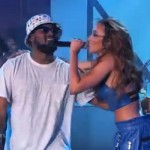 "Tinashe Performs ""2 On"" W/ Schoolboy Q On Jimmy Kimmel Live."