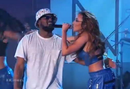 Tinashe Performs 2 On W Schoolboy Q On Jimmy Kimmel Live