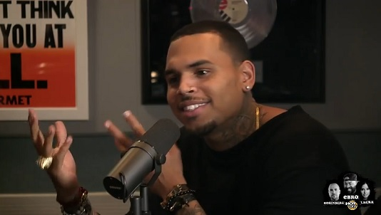 chris brown on ebro
