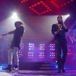 """Usher, Trey Songz & August Alsina Performs """"I Luv It"""" In Chicago."""