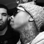 Drake Sneak Disses Tyga Again, While Blac Chyna Claims Tyga Hacked Here Twitter.