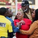 A man shopping on Christmas Eve was shot dead Leaving Foot locker.