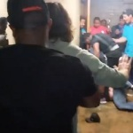 Video: Brawl breaks out in Louisiana's men's bathroom.