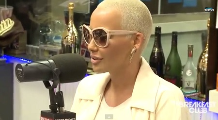 Amber Rose Interview at The Breakfast Club, Talks Wiz Khalifa and More