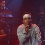 Kid Ink & Elle Varner Perform On Seth Meyers.