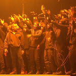 Kanye West Performs 'All Day' at THE 2015 BRIT AWARDS