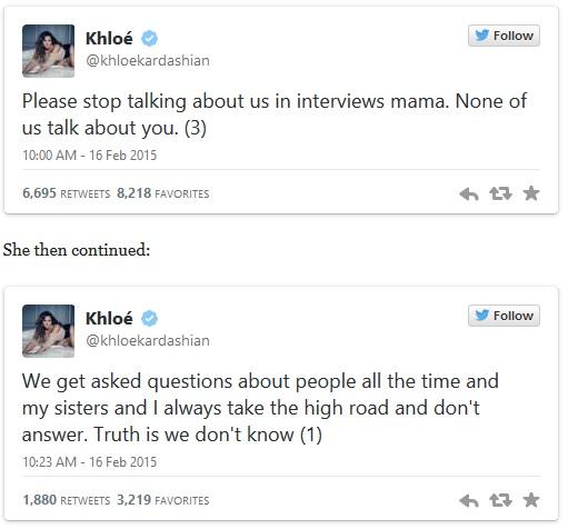 khloe kardashian diss Amber rose 2