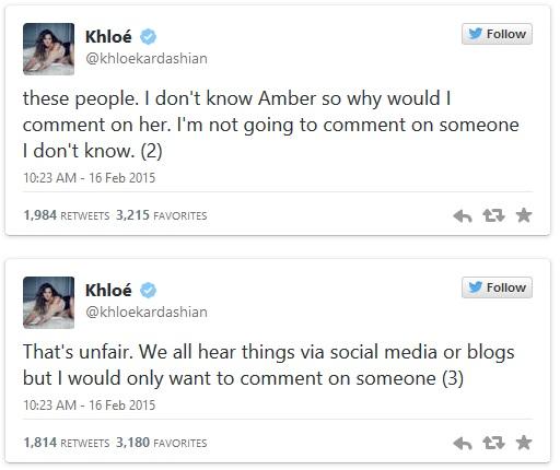 khloe kardashian diss Amber rose 3