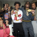"Migos Ft. Bobby Shmurda & Rowdy Rebel ""Shmoney Never Stop""."