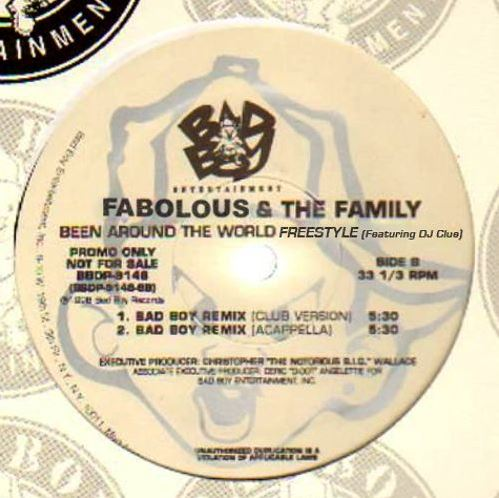 Fabolous Been Around The World Remix (Freestyle)