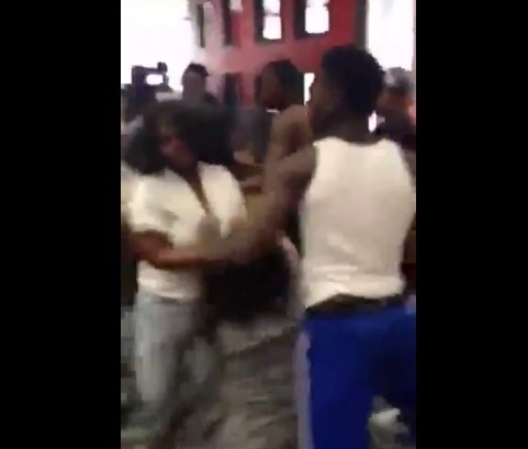 Teens attack bystander for breaking up brawl in Brooklyn McDonald's.
