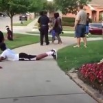 DISGUSTING: Cops harass black teenagers after showing up a white pool party