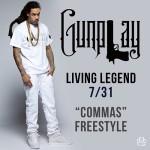 "Gunplay ""Commas"" Freestyle."