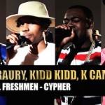 XXL Freshmen 2015 Cypher Pt. 1 Raury, Tink, K Camp & Kidd Kidd