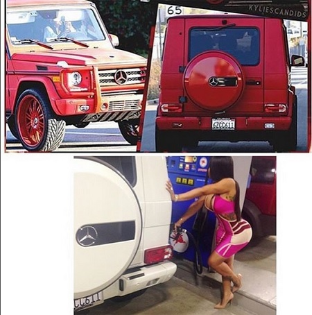 Tyga Gives Kylie a car, that once belonged to his ex Blac Chyna
