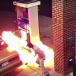 Man sets gas station on fire trying to kill spider