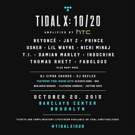 Watch JAY Z, Nicki Minaj, Beyonce , Usher, Lil' Wayne & More Perform at Tidal 1020 Concert (Live Stream)