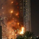 BREAKING News: Fire Engulfs Dubai Skyscraper