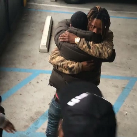 Video Fetty Wap gifts Monty with a BMW i8 For Christmas