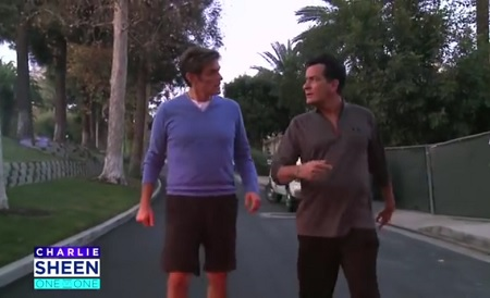 Exclusive Charlie Sheen talks about His HIV-Positive Diagnosis with Dr. Oz