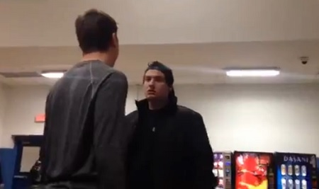 WTF Bully gets Destroyed in school fight